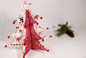 Árbol de Navidad de tela