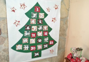 Calendario de adviento «Abeto»