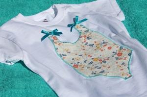 Camiseta bañador