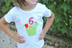 Camiseta cupcake