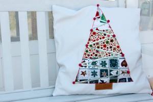 Cojín árbol de navidad
