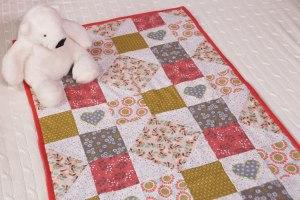 Colcha/manta de patchwork