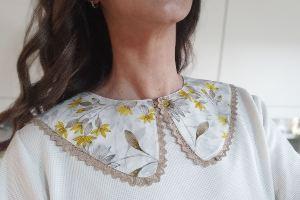 Cuello falso patrón 1