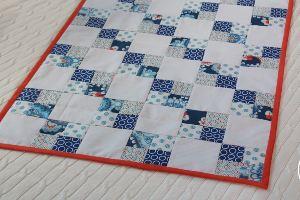 Colcha de patchwork especial principiantes
