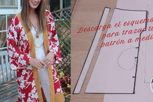 Kimono con solapas